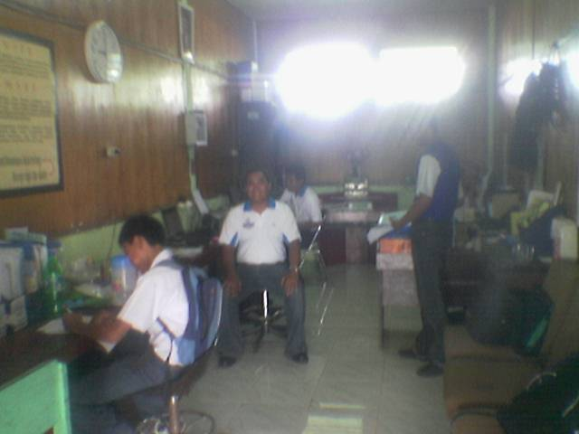 Ruang guru jurusan teknik informatika