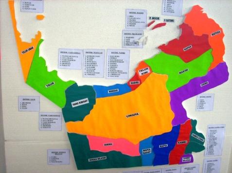 peta distrik yaur